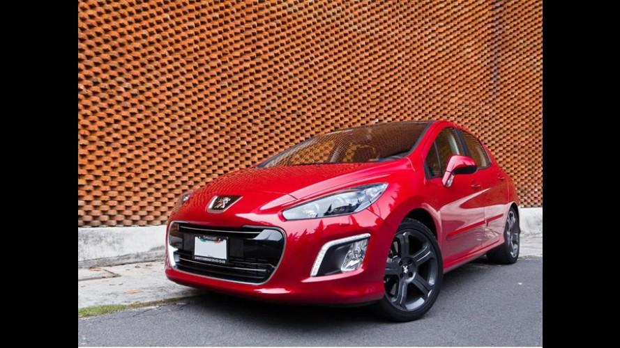 Peugeot lança 308 RC Turbo de 200 cv no México pelo equivalente a R$ 43.556