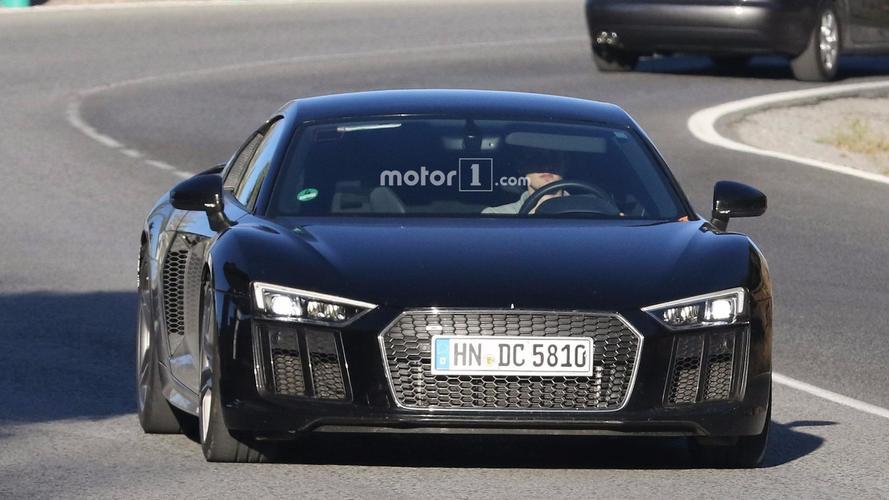 Audi R8 Photos espion