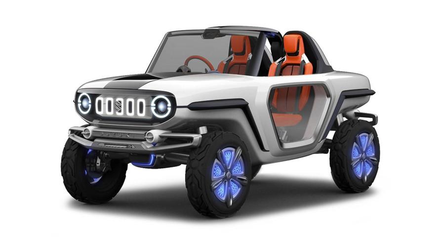 Suzuki e-Survivor konsepti geleceğe bakıyor