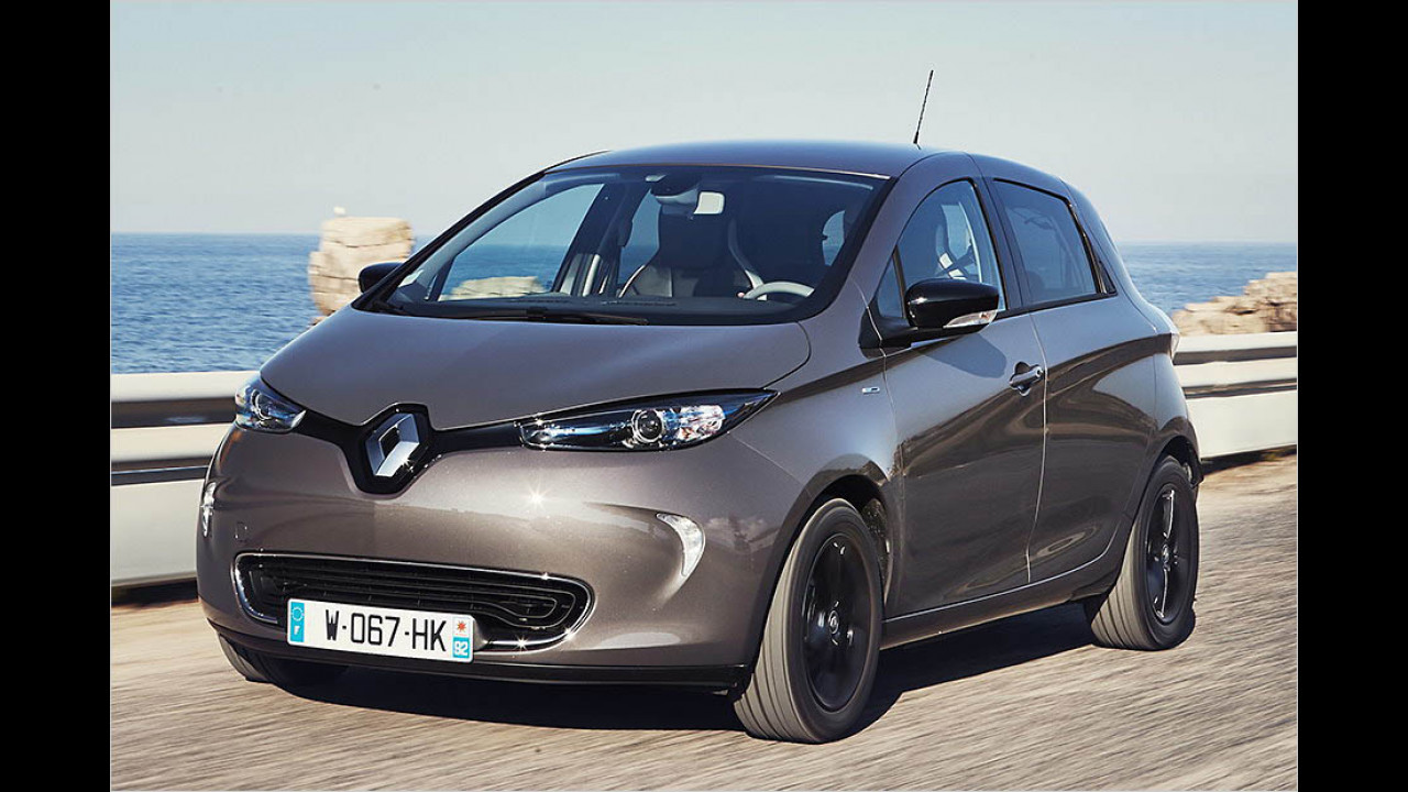 Renault Zoe: bis zu 400 km