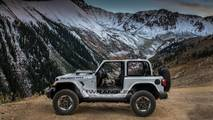 2018 Jeep Wrangler in Billet Silver Metallic Clear Coat