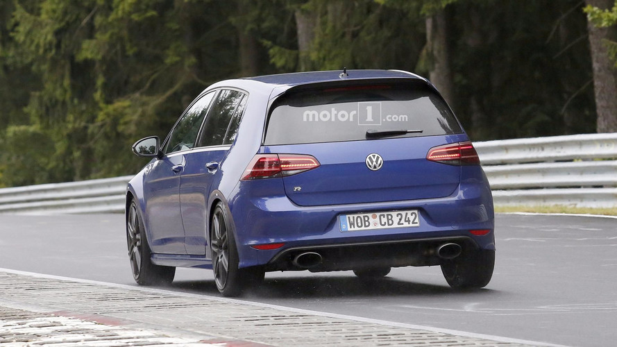 Que prépare Volkswagen avec cette curieuse Golf R ?