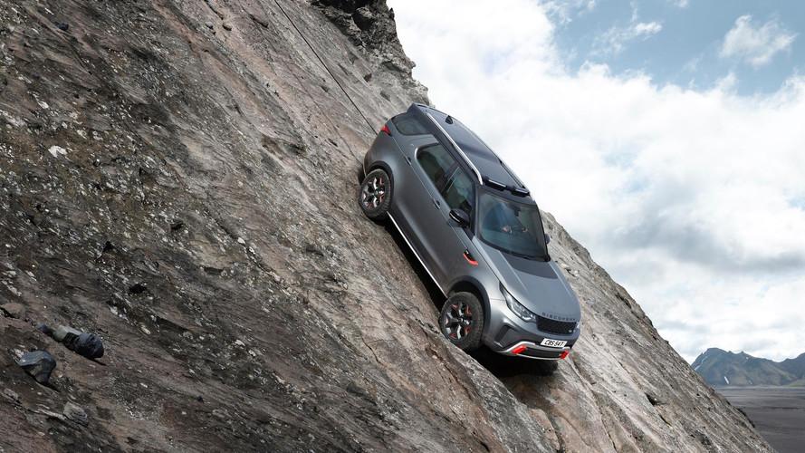 Land Rover Discovery SVX: V8 és 525 lóerő gyönyöre