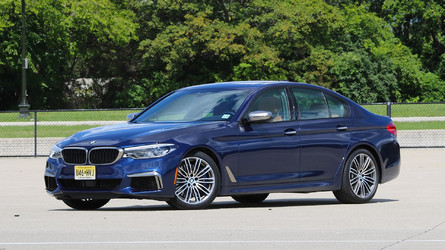2018 BMW M550i Review