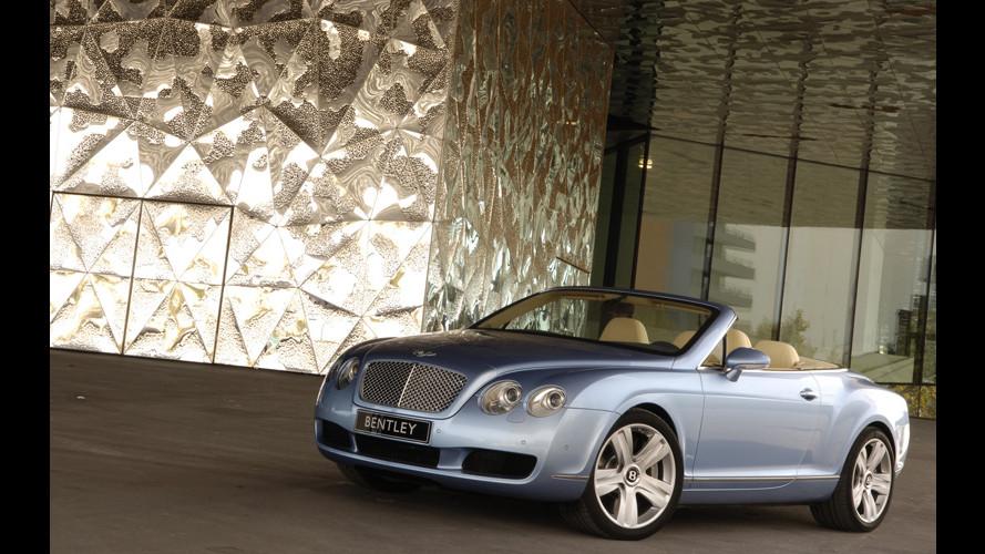 A settembre con Bentley Continental GTC