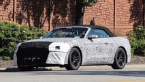 2018 Ford Mustang Convertible spy photos