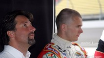 Michael Andretti and Dan Wheldon