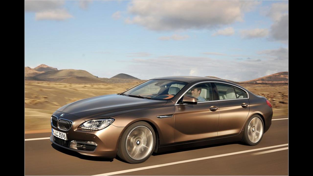 Juni: BMW 6er Gran Coupé