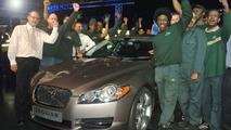 New Jaguar XF job #1