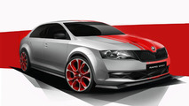 Skoda Rapid Sport concept in new official photos