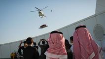 Aston Martin centenary spectacular in Dubai