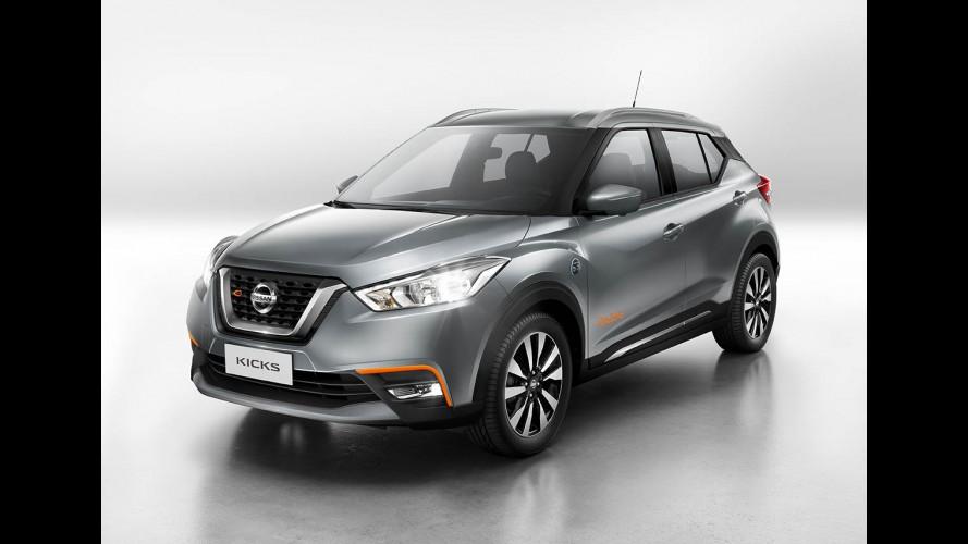 Nissan Kicks só terá versões mais baratas quando for produzido no Brasil