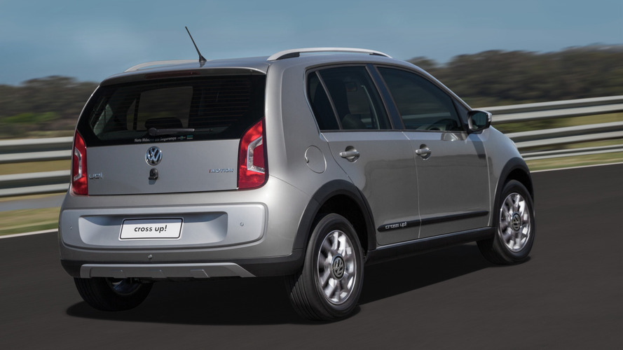 Volkswagen inicia exportação do cross up! para a Colômbia