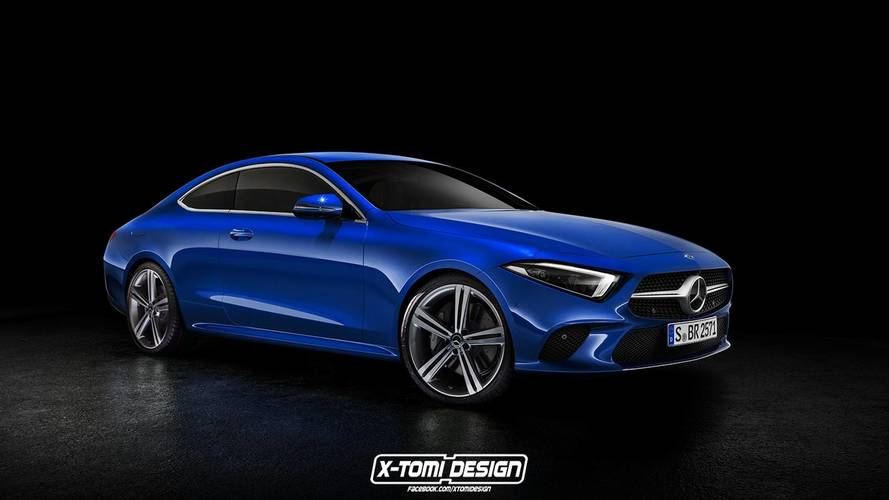 Mercedes-Benz CLS-Klasse Coupe rendering