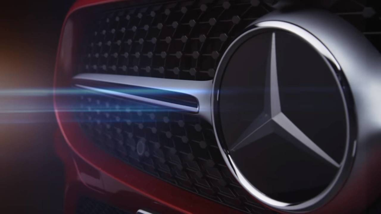 2018 Mercedes CLS teaser