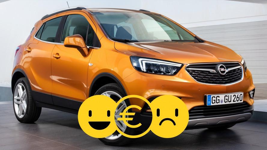 Promozione Opel Mokka X, perché conviene e perché no