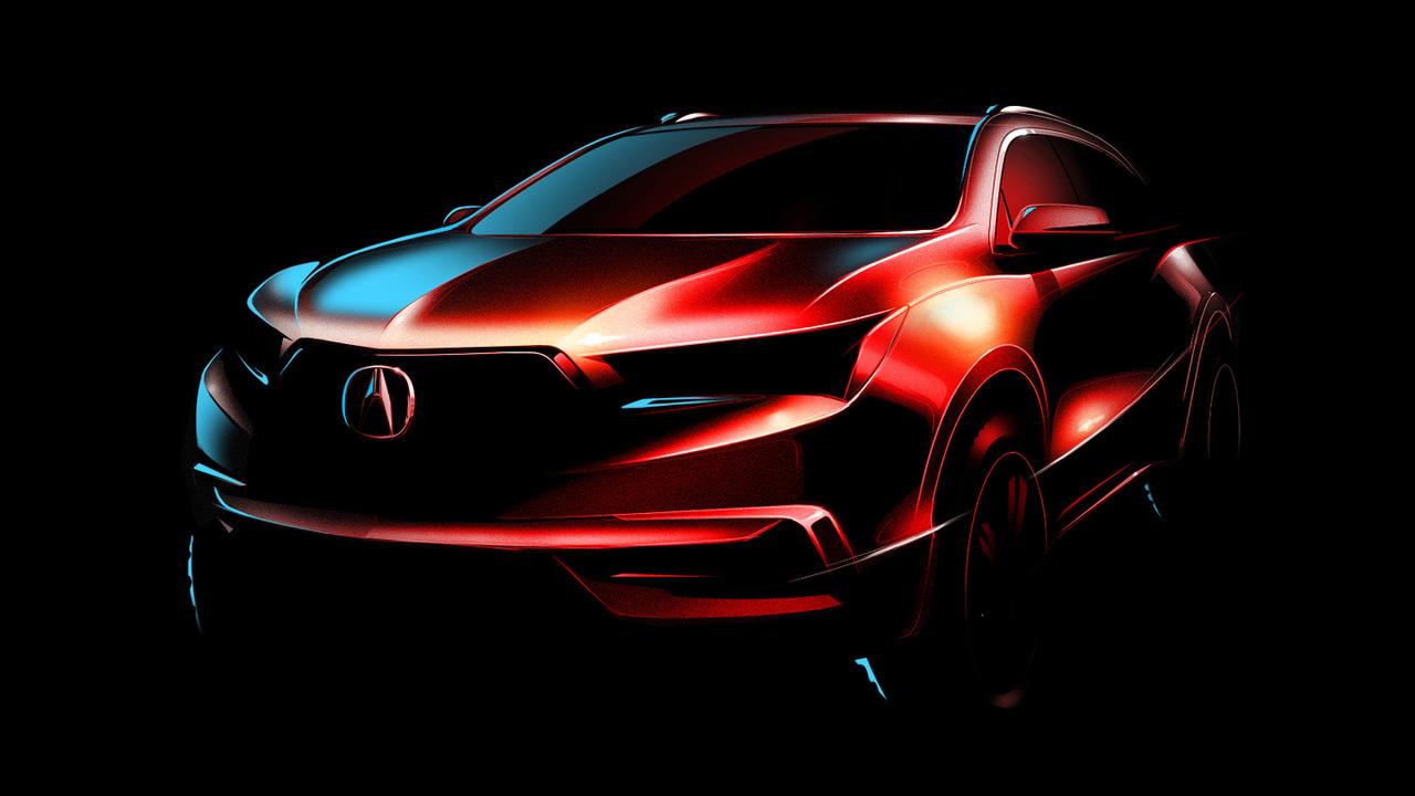 2017 Acura MDX teaser image