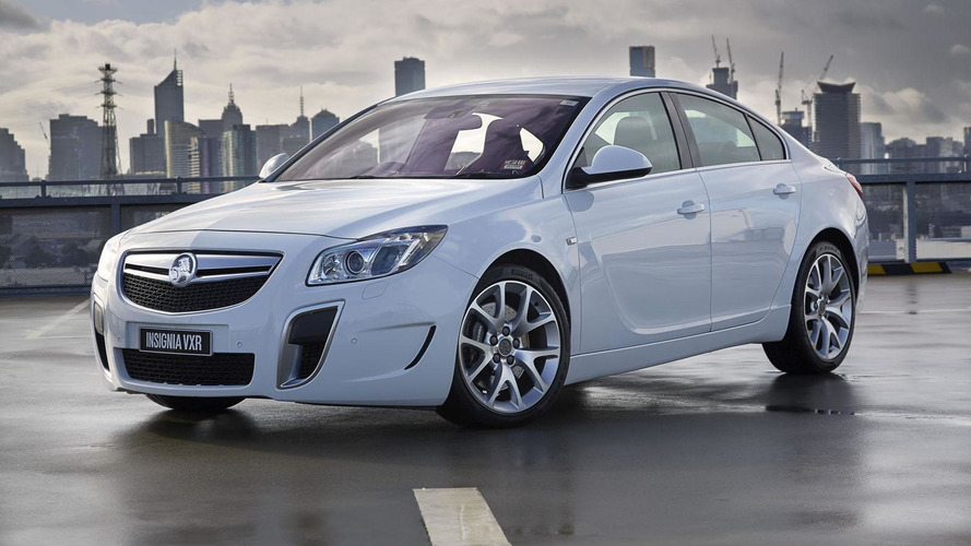 Holden Insignia VXR gets detailed
