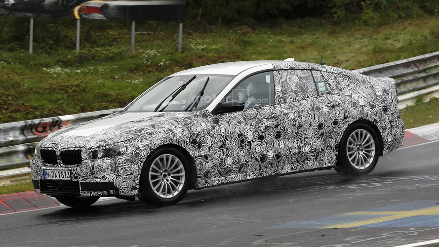 2017 BMW 5 Series GT tackles the 'Ring