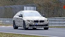 2017 BMW M5 spy photo
