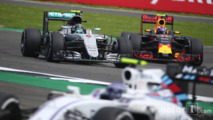 Nico Rosberg and Max Verstappen