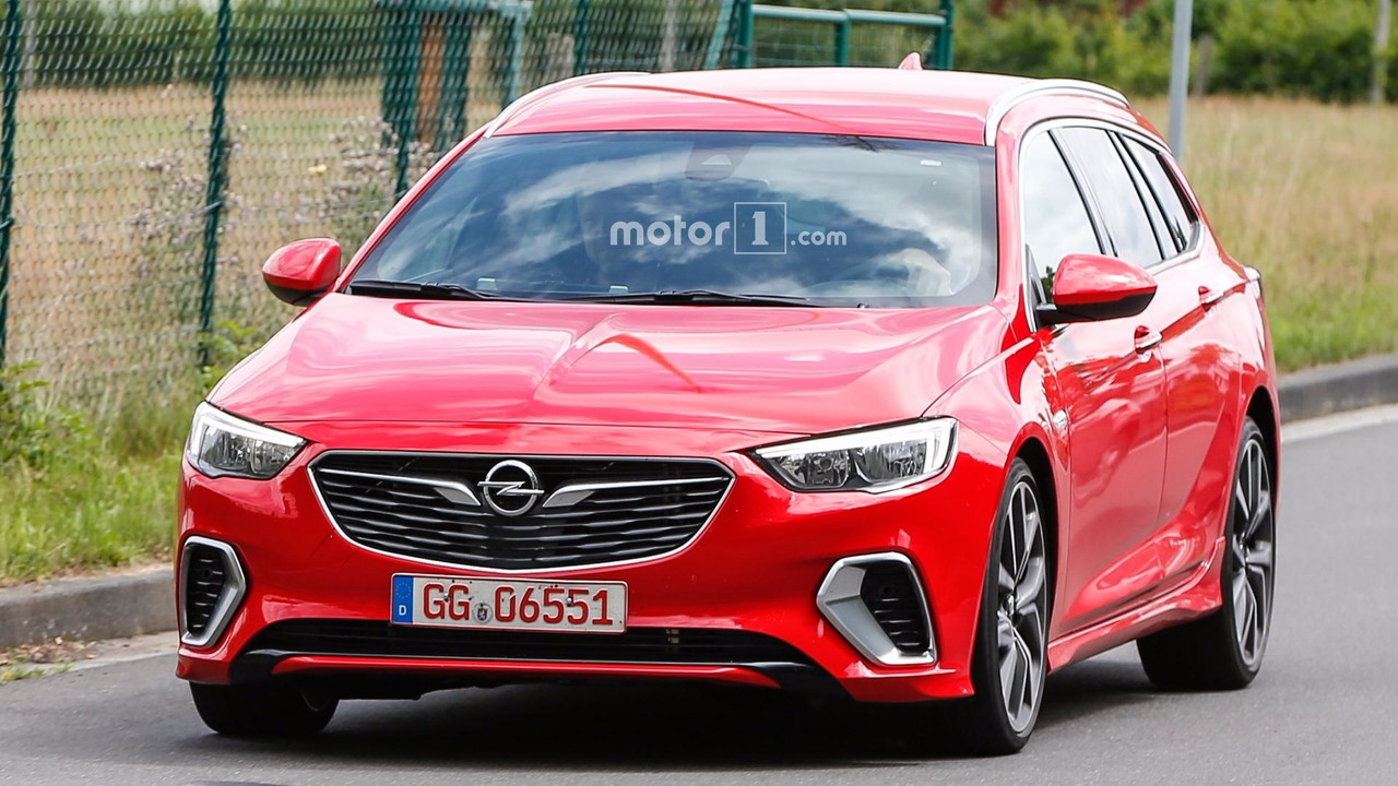 opel insignia gsi wagon spied without any camo. Black Bedroom Furniture Sets. Home Design Ideas