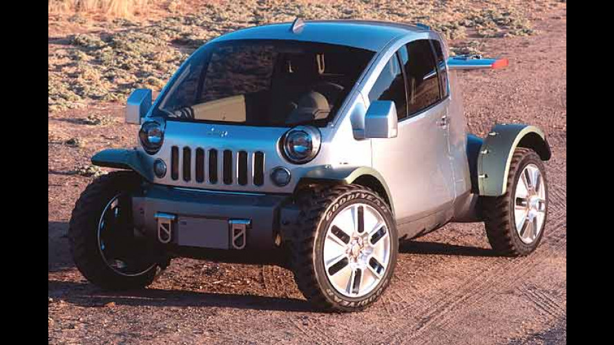 Jeep: Studie Treo auf ungewohnten Design-Pfaden