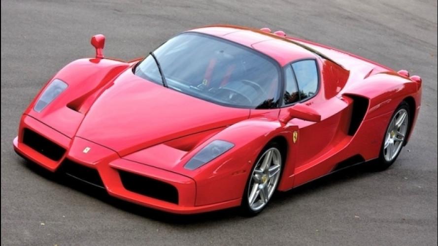 """Ferrari Enzo, l'ultima """"pura"""" del Cavallino"""