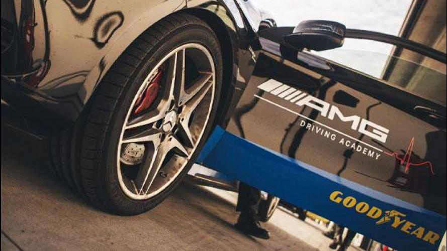 Goodyear e Dunlop, la prova delle nuove gomme sportive