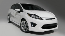 2011 Ford Fiesta with Ford Custom Accessories, Ford Licensed Accessories and Ford Racing Performance Parts