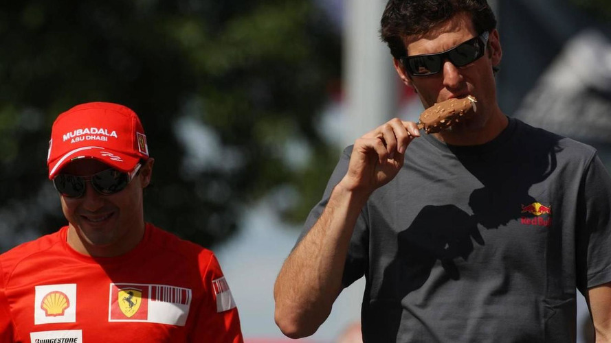Massa, Webber, play down rumours about futures