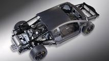 Lamborghini Aventador LP700-4 V12 Rolling Chassis 22.02.2011