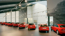 Audi R8 V10 Spyder Makes UK Debut for West London Audi Grand Opening - world's largest Audi Centre