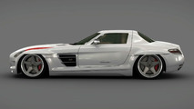 Mercedes SLS Panamericana by Gullwing America 3D rendering