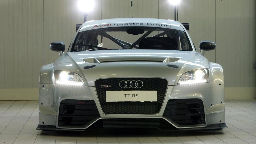 Audi reveals TT RS race version - return to DTM?