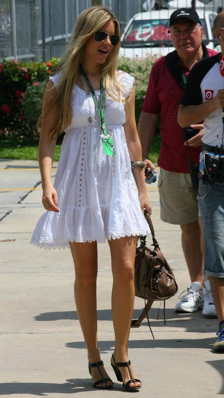 Vivian Sibold the girlfriend of Nico Rosberg (GER), Malaysian Grand Prix, 03.04.2010 Kuala Lumpur, Malaysia
