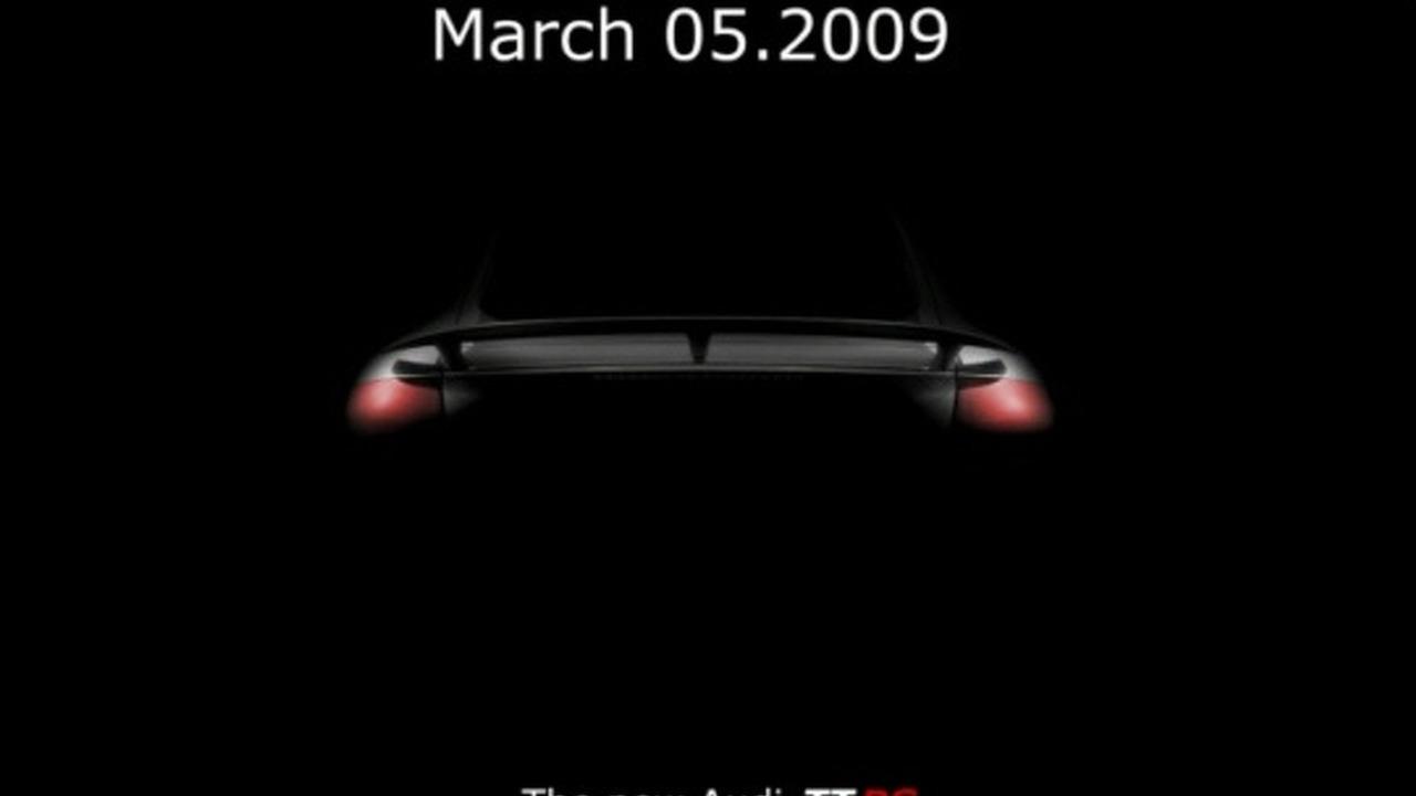 Audi TT-RS faked teaser image