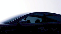 enhanced Tesla Model S Teaser Shot