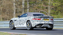 Jaguar F-Type R Roadster spied on the Nurburgring