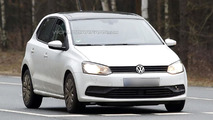 Volkswagen Polo facelift spy photo