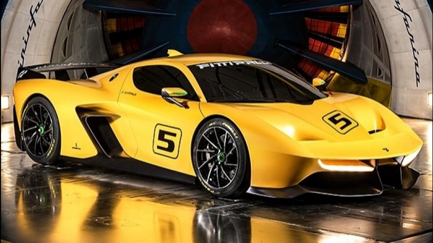 Fittipaldi EF7 Vision Gran Turismo by Pininfarina, emozioni più che virtuali