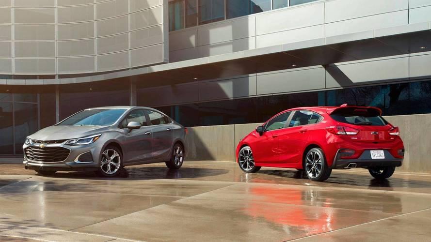 Chevrolet Cruze ve Spark 2019 model yılı için güncellendi