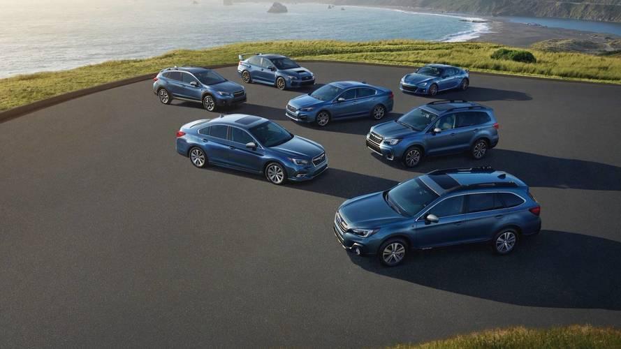 Subaru, ABD'deki 50.yılına özel versiyonlarını duyurdu