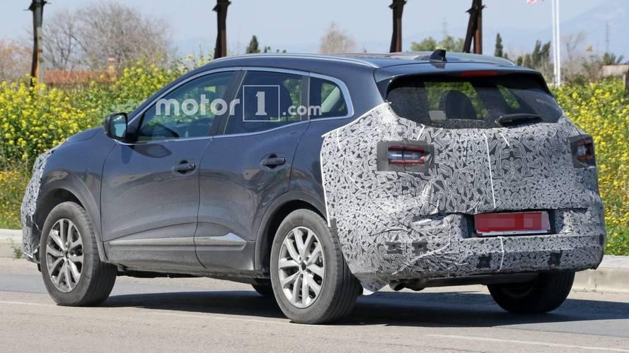 Renault Kadjar Facelift Makes Spy Photo Debut