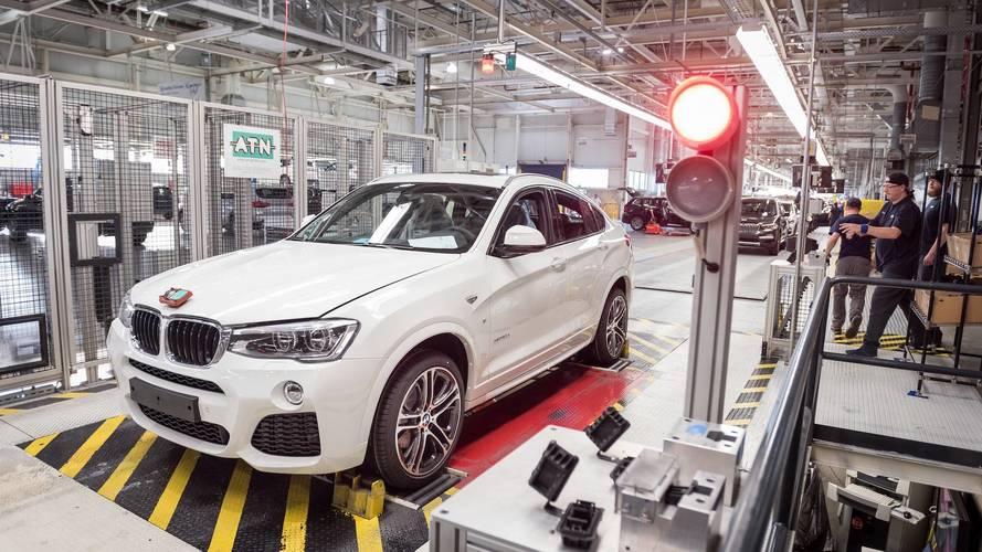 BMW bugüne dek 200 bin X4 üretti
