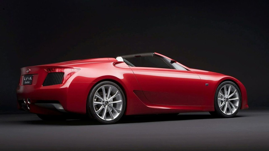 Lexus LFA Roadster axed, Toyota Supra under development - report