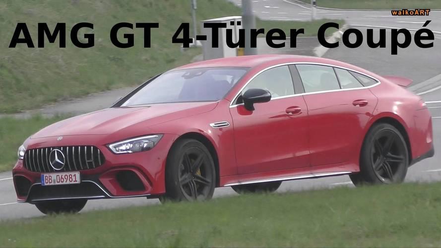 Vidéo : la Mercedes-AMG GT Coupé sur la route