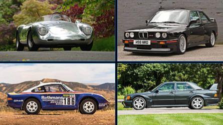 10 coches clásicos legendarios que se subastarán este verano
