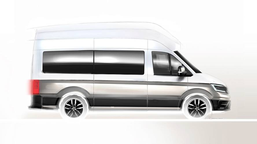 VW teases production-ready California XXL camper van