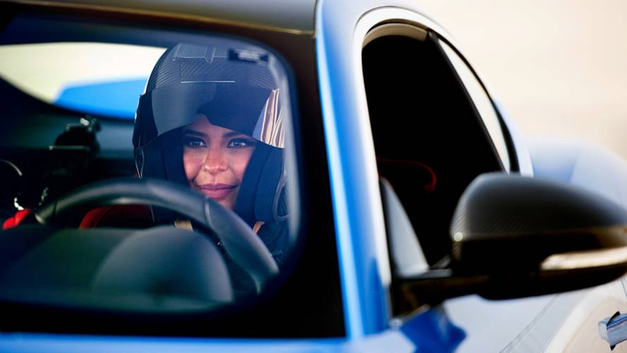 Al Hamad Laps Track In Saudi Arabia As Female Driving Ban Lifts